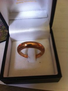 Rose gold 18 kt ring – 57 (EU)