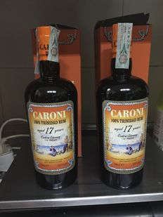 2 bottles - Caroni  17 year old - Vintage 1998