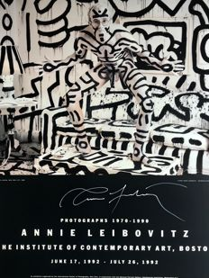 Annie Leibovitz  - Keith Haring (signed) - 1992