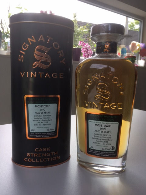 Mosstowie 36 years old 1979 Signatory Vintage