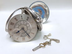 John Forrest, London, watchmaker to the admiralty, reloj de bolsillo de gran tamano y peso, verge 1905.