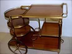 Modernist liquor cart