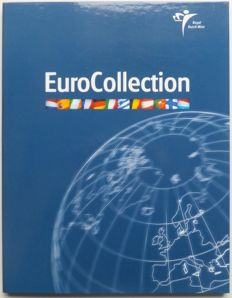 Europe - Year series euro coins of the first 12 euro countries in special EuroCollection
