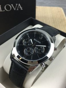 Bulova men's chronograph – New, never worn, with original box and authenticity papers.