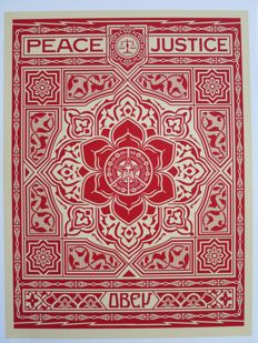 Shepard Fairey (OBEY) - Peace & Justice