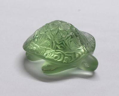 Lalique - Sidonie green turtle