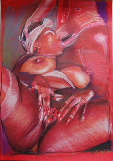 Original; Unknown Artist T.Z. - Black Women -  2011