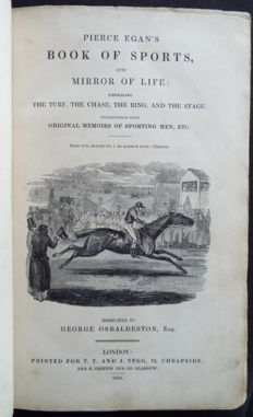 George Osbaldeston - Pierce Egan's Book of Sports and mirror of life - 1832