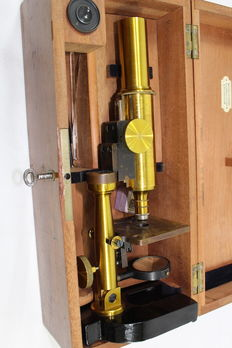 Wilhelm Rabe microscope - second half of the 19th century