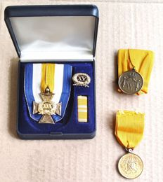 Faithful Service Medal for officers - 2 x loyal service for servicemen below the rank of officer