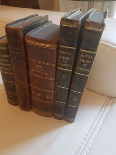 Lot of 5 novels - 1828/1844