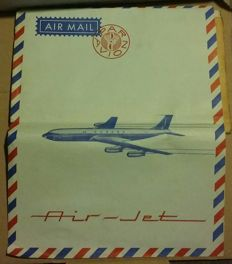 Notebook SABENA BOEING 707 Air-jet