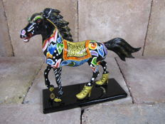 Toms Drag - Black Beauty Horse - an exclusive and detailed art-collectors item