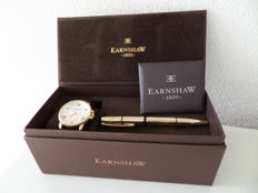 Thomas Earnshaw ES-8021-SETA-03 – Fitzroy Gift set - Men's wristwatch – 2017