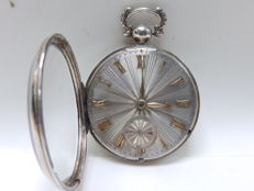 William. Cochran. reloj de bolsillo para caballero, Verge Fusee. Londres, 1830.