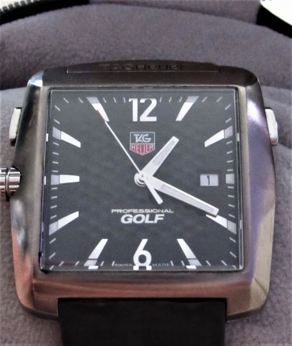 TAG HEUER TIGER WOODS Edition, Professional Golf Watch WAE1111