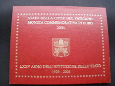 "Vatican - 2 Euro 2004 ""75º Anniversary of the Foundation of the Vatican City State"""