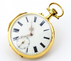 Lepine and Remontoir. Pocket Watch. Circa 1900.