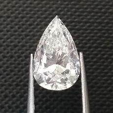 GIA 1.27 ct E/VVS2 Pear Brilliant Diamond ***Original Image***