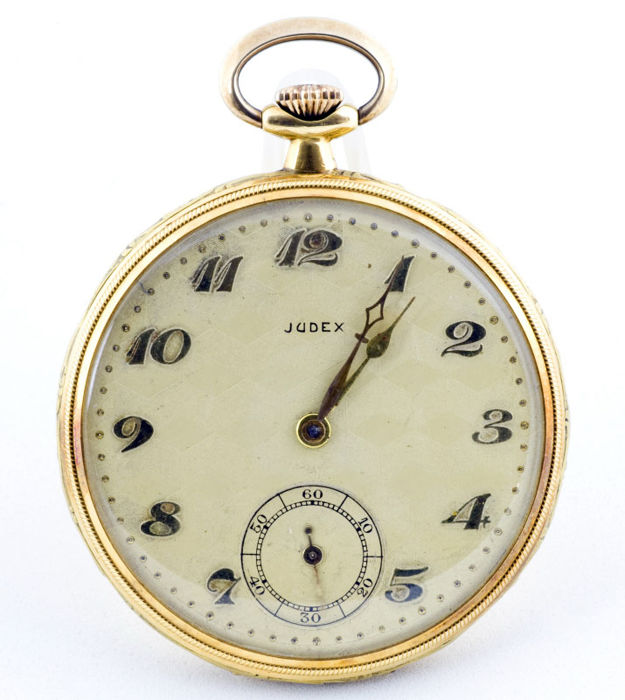 Judex  modelo Frac. - Lepine y Remontoir. Oro 18k. - 242745 - Men - 1850-1900