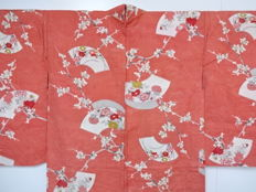 Haori Kimono with Japanese classic patterns - Japan - late 20th century