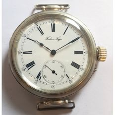 Paul Buhre, Rare Marriage Wristwatch, Switzerland, 1905