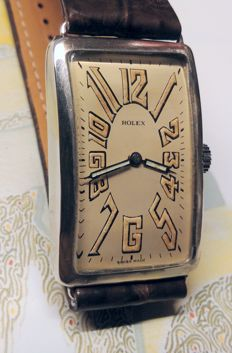 Rolex Art Deco Wedding Watch - Men's - 1930s