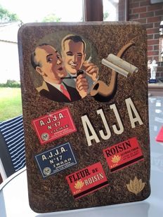 Ajja, vintage advertising sign 1954