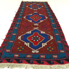 "Sumak Kelim - 190 x 70 cm - ""Persian rug in beautiful condition""."