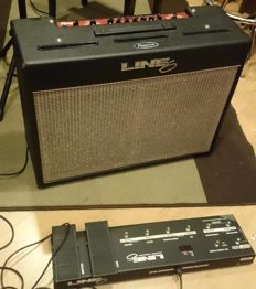 LINE6 FLEXTONE II XL COMBO, including A FLOORBOARD PEDAL with a RockBag case - SPAIN - 1999