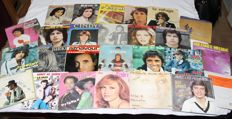 Set of 26 singles of 45 rpm