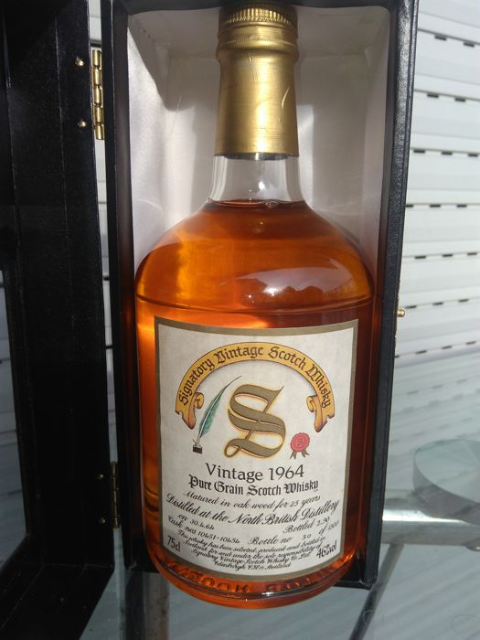 North British 25 years old 1964 Signatory Vintage 750ml