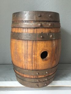 Wooden wine barrel, made of oak wood - 2nd half of 20th century - France, Burgundy