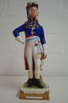Scheibe Alsbach - Porcelain Figurine of General Dumouriez - Napoleonic Collection