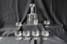 Vintage liquor set - 7 piece set