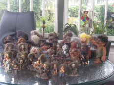 Collection of 48 Trolls