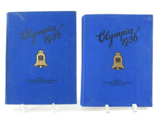 Olympia 1936 volumes 1 and 2, collecting picture albums