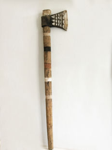 Ceremonial wooden axe - Mimika - KAMORO clan - West-Papua