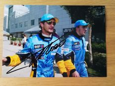 Fernando Alonso / Double world champion / Formula 1 - 15 x 20 cm hand-signed photo