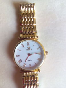 Quartz gold-plated watch