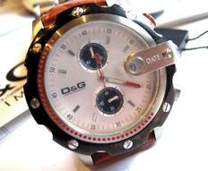 Men's chronograph by DOLCE & GABBANA, new in perfect condition, 2008