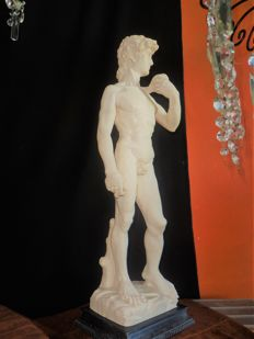 David sculpture (Michelangelo) - Soapstone