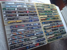 Collection - brewery trucks, advertising trucks, a few oldtimer trucks and single editions, in collector boxes, 82 items - 1997/2006