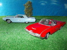 Anson - Scale 1/18 - Ford Thunderbird Supersport Hardtop 1963 & Thunderbird Sport Roadster 1963