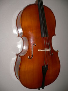 Beautiful 3/4 German cello by A. Schroetter with cover and bow