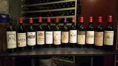 Mixed lot Bordeaux Grand Cru Classé, Grand Cru & Pomerol - 12 bottles