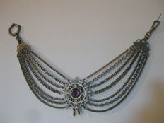 Pocket watch chain – late 19th century/early 20th century
