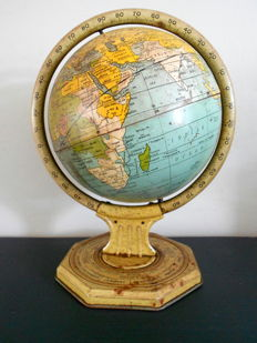 J. Chein & Co - antique tin Globe