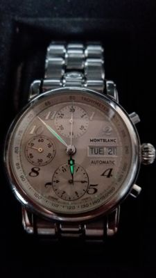Montblanc Meisterstuck 4810-501 Chronograph, Silver Dial, Men's Watch
