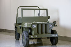 Willys Jeep - Junior Replica MB - 2/3 scale - gasoline engine, 110 cc, with 3 gears + MA